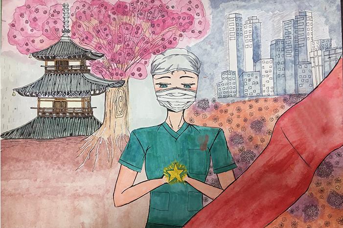 兰州市第三届青少年社会主义核心价值观主题动漫设计作品征集评选展示(漫画插画 二十九)