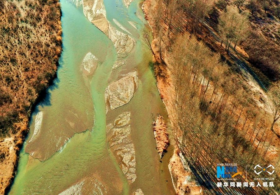 """【飞阅""""中国】色彩斑斓石羊河"""