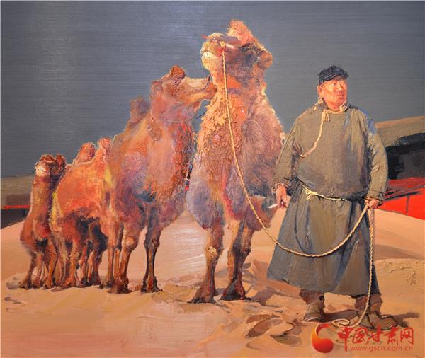 笔墨丹青凝心聚力 第四届中国民族美术双年展作品掠影(组图)