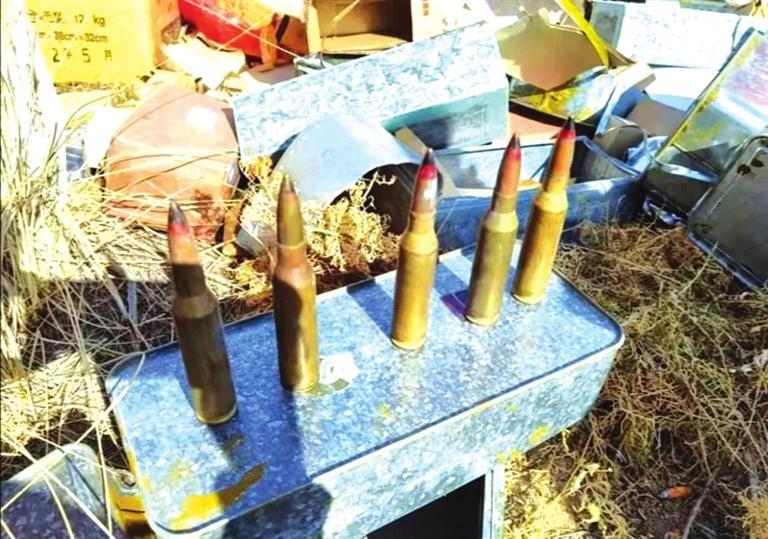 兰州公安成功处置一批废旧危爆物品