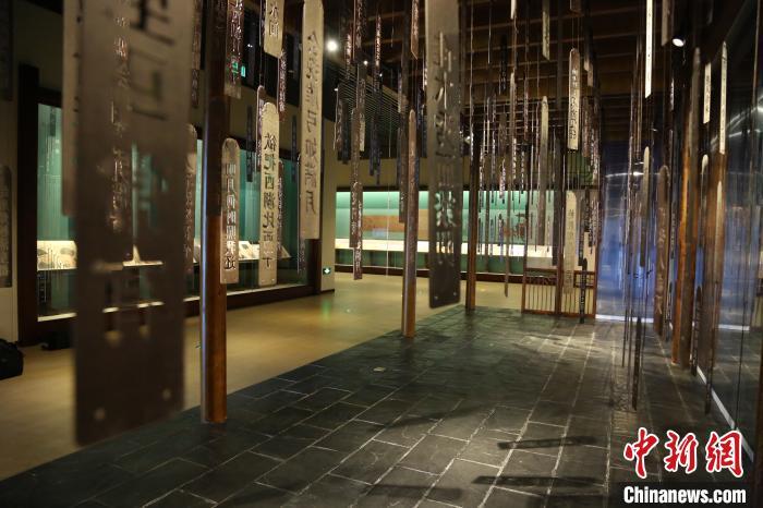 展览现场。 辽宁省博物馆供图 摄