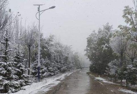 小雪本周光临兰州最低气温下降到-6℃