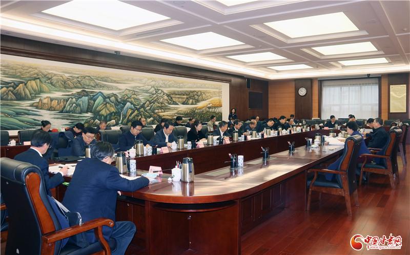 甘肃省文化体制改革专项小组专题会在兰召开 王嘉毅主持并讲话
