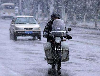 甘肃大部出现雨雪天气