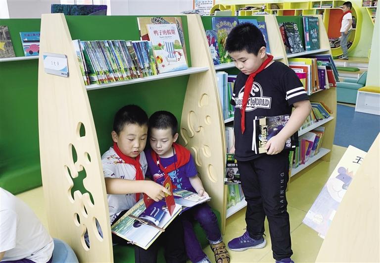 """打造""""图书馆+""""阅读新模式 市图青少年分馆全民阅读活动精彩纷呈"""