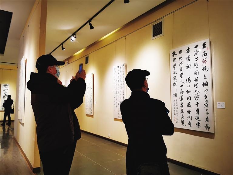 120幅书法作品致敬敦煌莫高窟藏经洞发现120周年