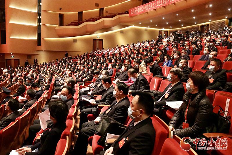 2020年甘肃省劳动模范和先进工作者表彰大会在兰举行 林铎讲话 任振鹤主持
