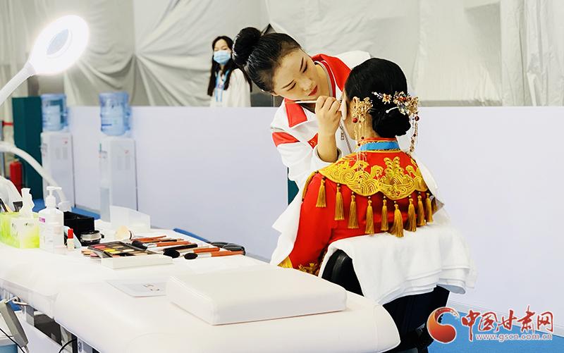 【第一届全国技能大赛】甘肃代表团年龄最小选手沈紫倩:国赛是梦想开始的地方