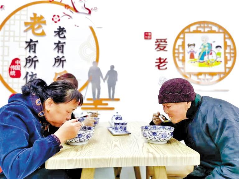 兰州晏家坪街道南院社区家门口的养老服务温暖贴心
