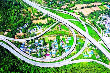 陇南市美丽乡村建设一角