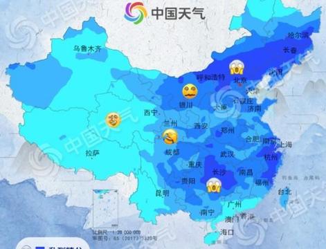 寒潮来了!今明两天甘肃省大部将降温6℃至8℃