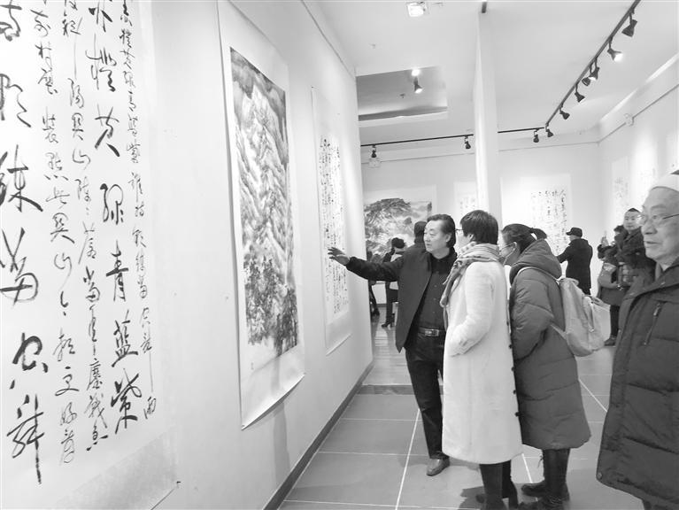 顾军·张巨鸿毛主席诗词书画展12月28日开展