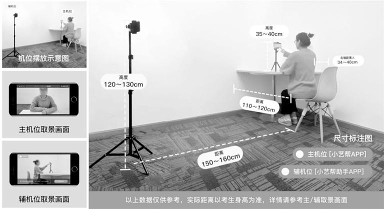 中国传媒大学艺考初试需两部手机:一部用于作答,一部实时监考