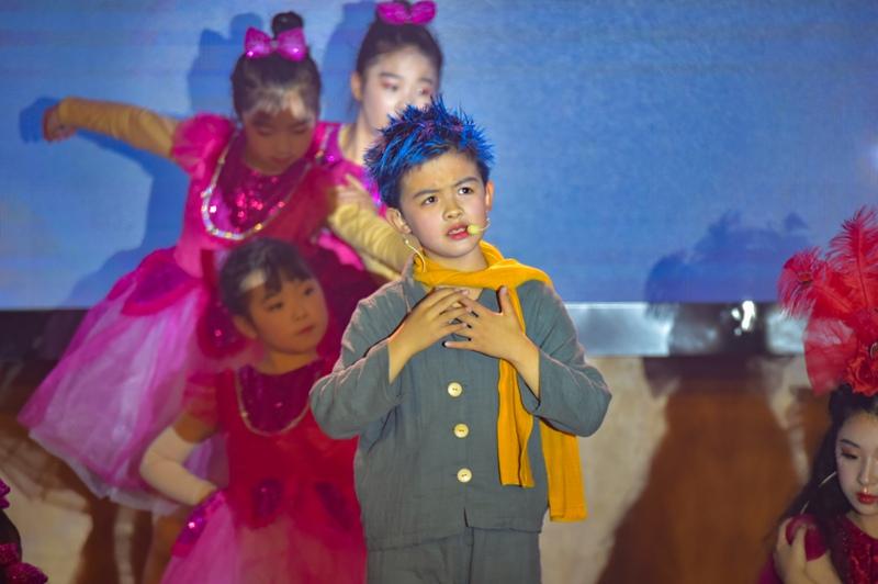 儿童哲学剧《小王子》上演 孩子们在剧中学会思考