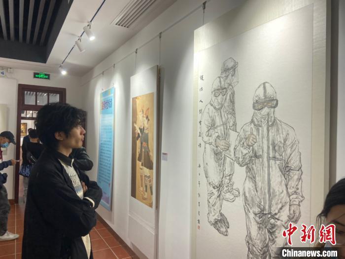 首届闽台两岸大学生美术作品大赛作品展厦门开展