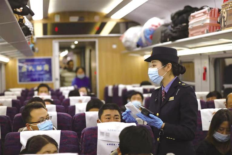 元旦假期全省交通运输平稳有序 兰州铁路局累计发送旅客61.8万人次