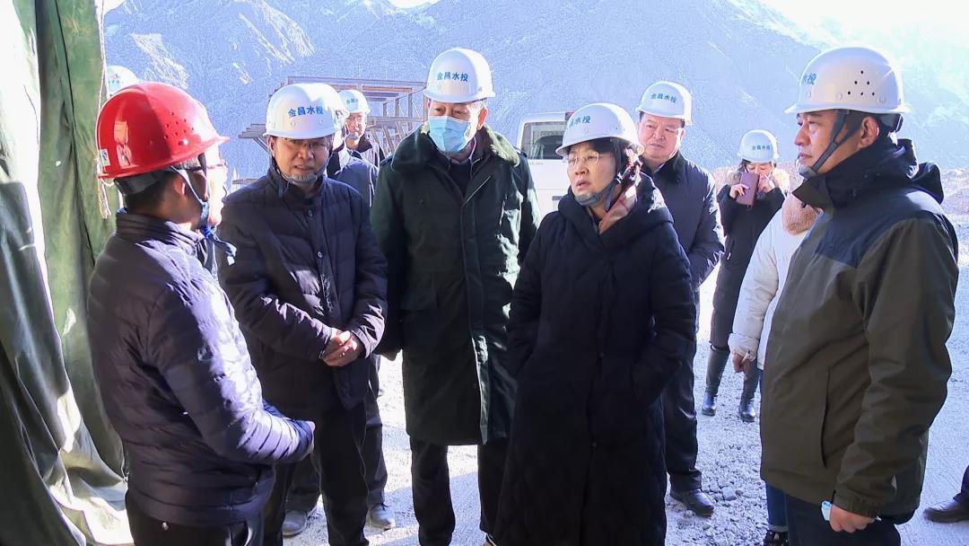 张永霞调研韩家峡水库项目建设情况时强调 努力打造经得起历史检验的优质工程