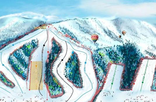 兰州新区开通滑雪免费直通车