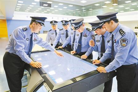 致敬!人民警察