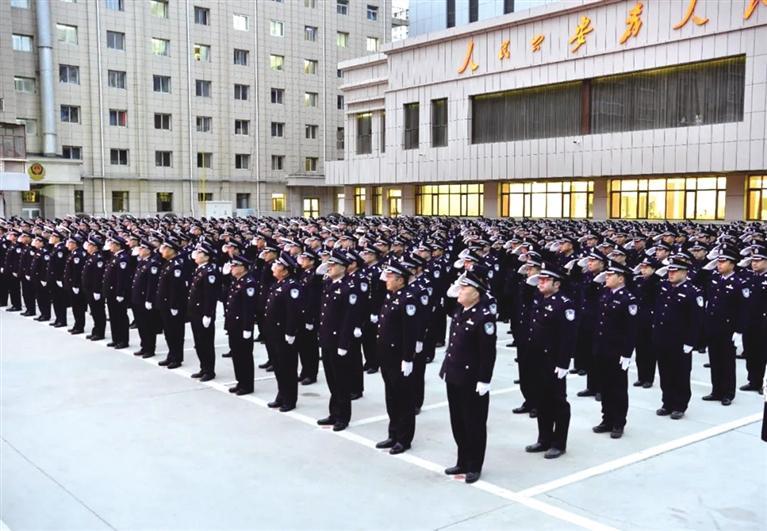 """牢记使命 铸就警魂 兰州市以多种形式庆祝第一个""""中国人民警察节"""""""
