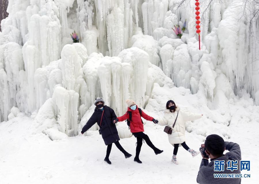 甘肅康樂︰冰雪世界迎客來