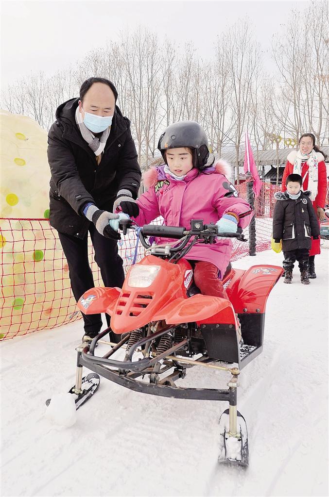 临夏州:冰雪运动乐寒假