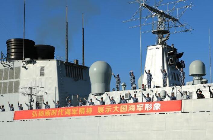 海军第37批护航编队起航奔赴亚丁湾