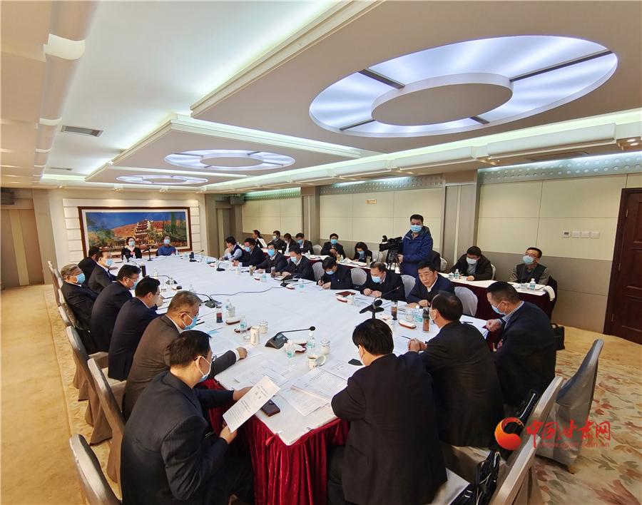 【聚焦2021甘肃两会】省政协委员分组讨论两院工作报告