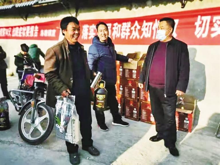 【新春走基层】甘肃省文联暖心慰问帮扶点困难群众