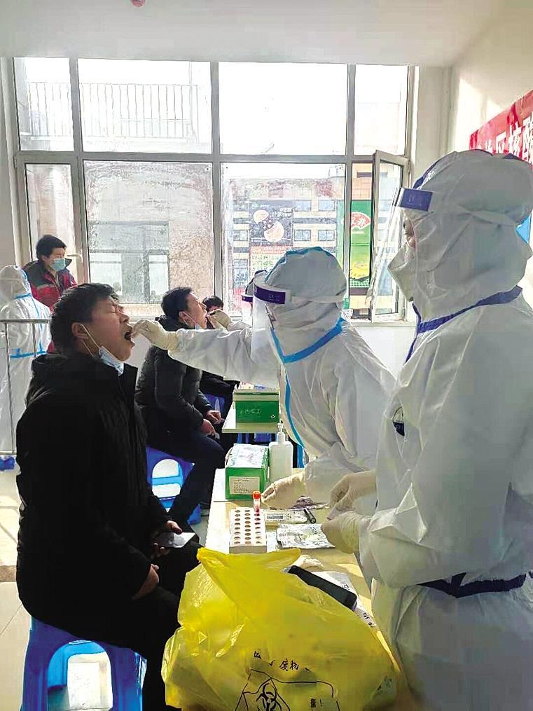 兰州市城关区开展核酸检测信息系统应急演练