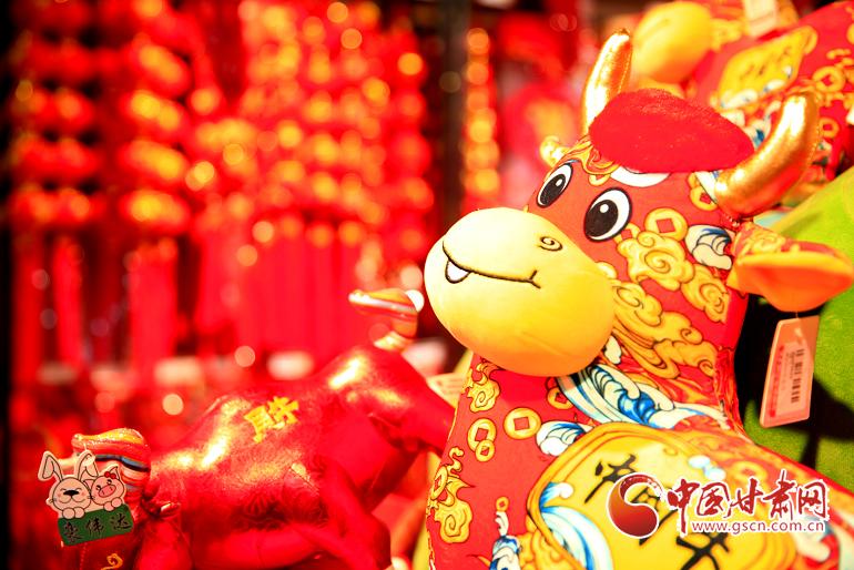 甘州:年饰红火迎新春