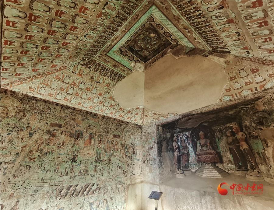 【新春走基层】在兰州看敦煌 赏壁画看石窟一起来过文化年