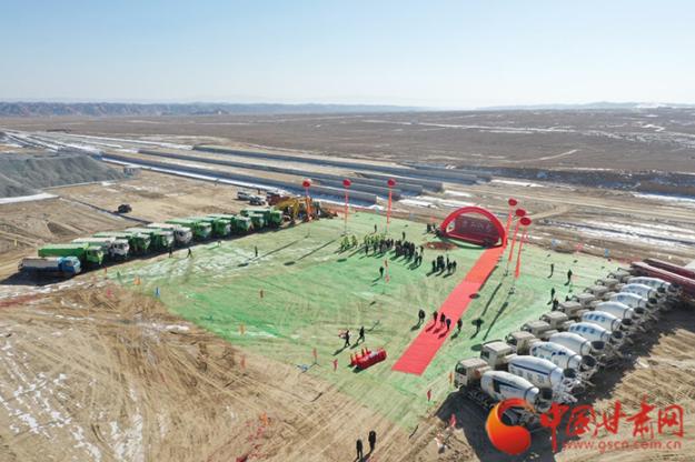兰州新区南站开工建设 2022年4月建成使用
