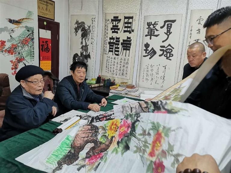 首届青城古镇窗花绘画大赛举办