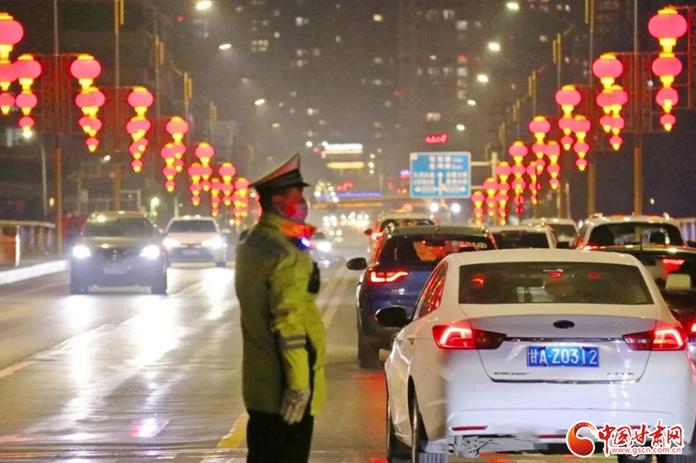 春节假期 甘肃省道路交通安全顺畅有序