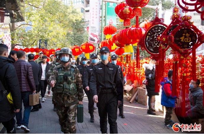 春节期间 甘肃全省社会治安大局平稳