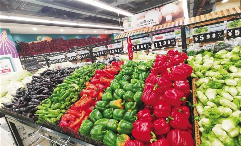 春节黄金周市场繁荣消费活跃 全市13家大型商超销售额达1.6亿元
