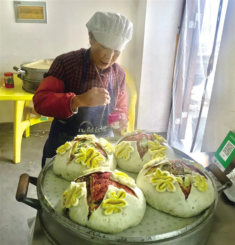什川小夫妻将花馍馍卖向全国