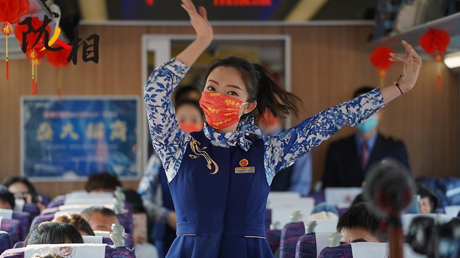 【网络中国节·元宵】兰州铁路局职工坚守岗位 情暖旅途