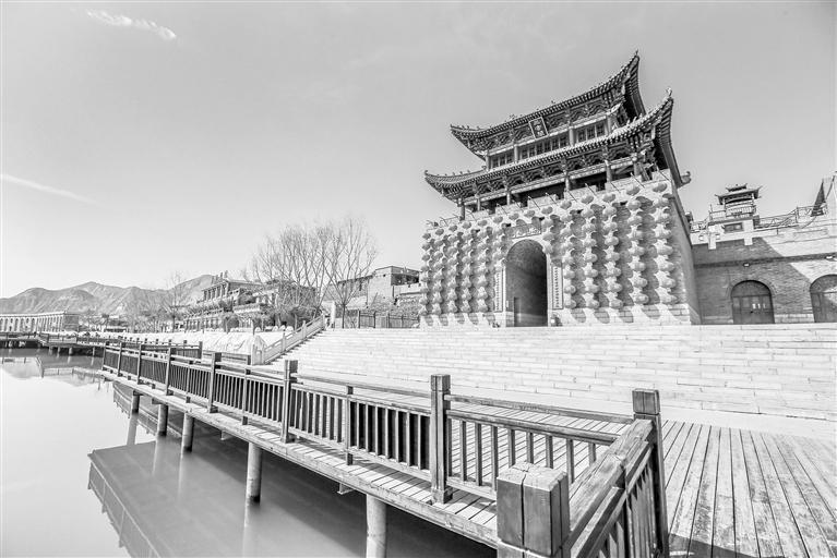 甘肃旅游丨河口古镇 步入清明上河图