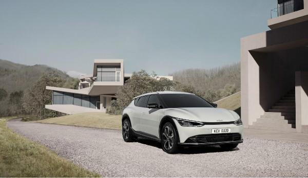 全新设计理念 起亚发布首款专属电动车EV6