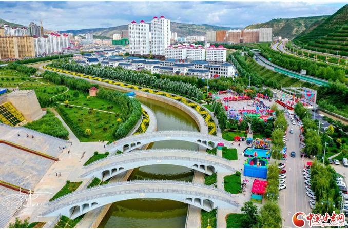 """50个重点项目集中开工——会宁县按下高质量发展""""加速键"""""""