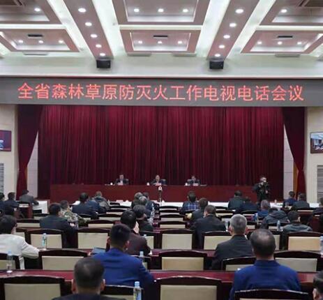甘肃省森林草原防灭火工作电视电话会议召开 李沛兴出席并讲话