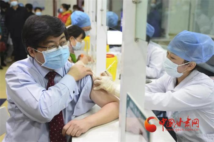 兰州市城关区已累计接种新冠病毒疫苗3.5万余人