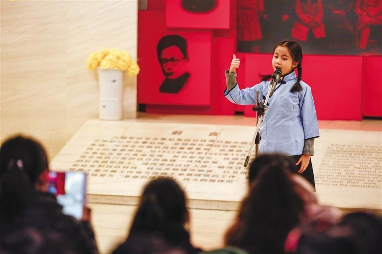 兰州:小小讲解员传播红色文化