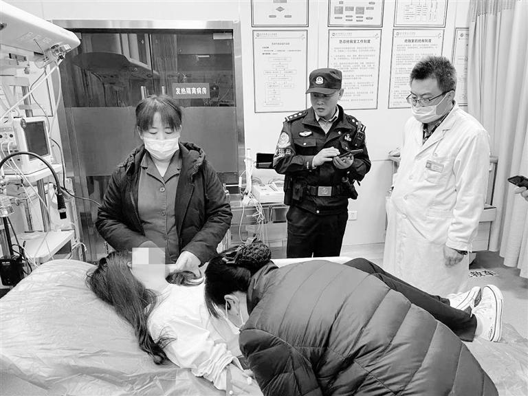 兰州靖远路派出所民警连续两日救回两名欲跳河女子