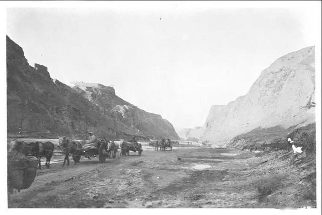 1926年,美国人拍摄的六盘山