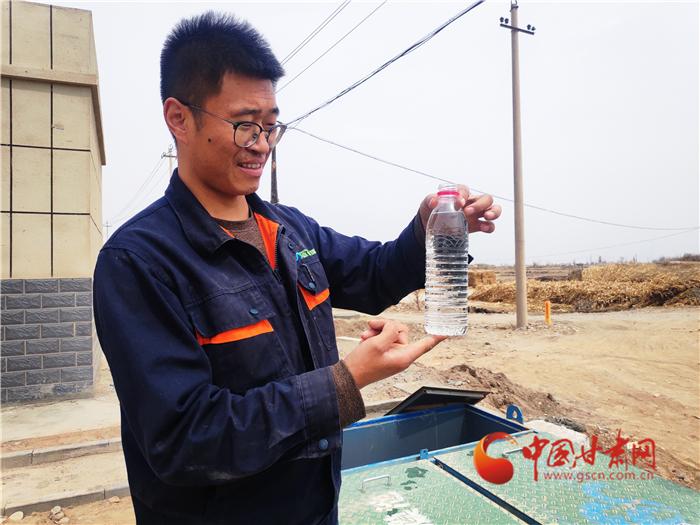 张掖市甘州区:污水处理进村镇 激活乡村内在美