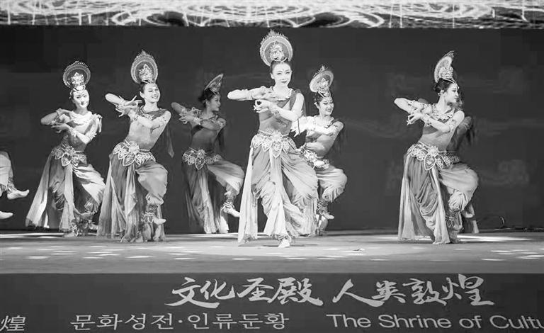 """《敦煌之韵》添彩""""东亚文化之都""""中国敦煌活动年"""