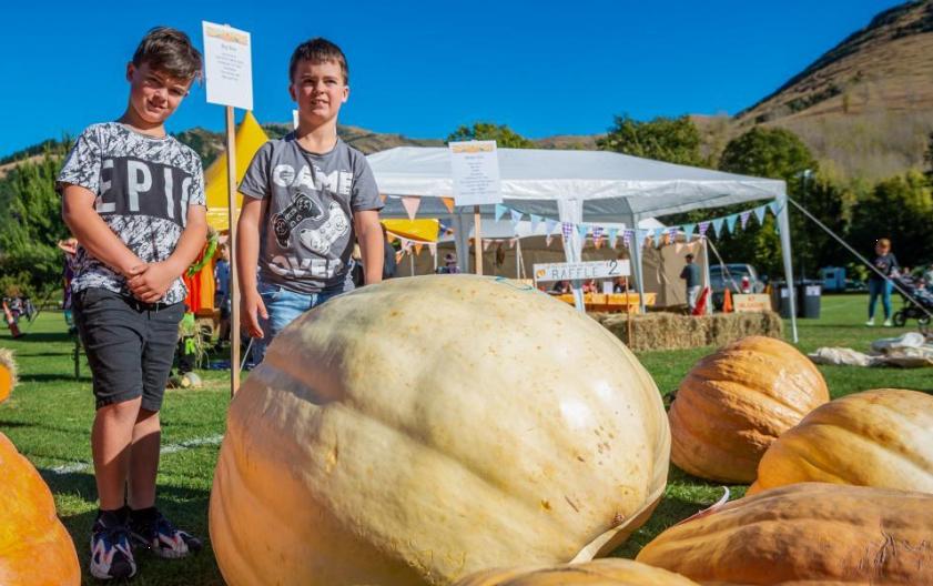 新西兰:南瓜节给孩子带来欢乐